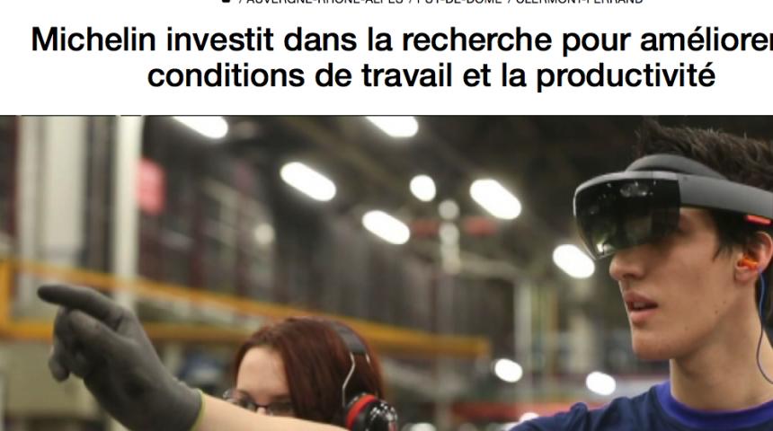 Michelin investit pour améliorer les conditions de travail et la productivité